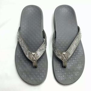 VIONIC Bella II Sequin Thong Sandals Flip Flops